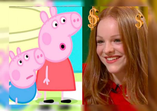Actriz que da voz a Peppa Pig revela cuánto le pagan y sorprende a todos (VIDEO)
