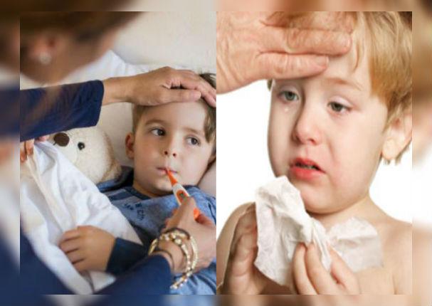 Padres: ¿Cómo reconocer los síntomas de neumonía en los niños?