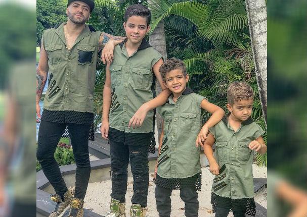 Hijo de Nacho revela quién es su cantante favorito ¡Y no es su padre! (VIDEO)
