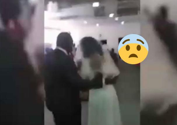 Youtube Viral: Mujer interrumpe la boda de su amante con insólito traje (VIDEO)