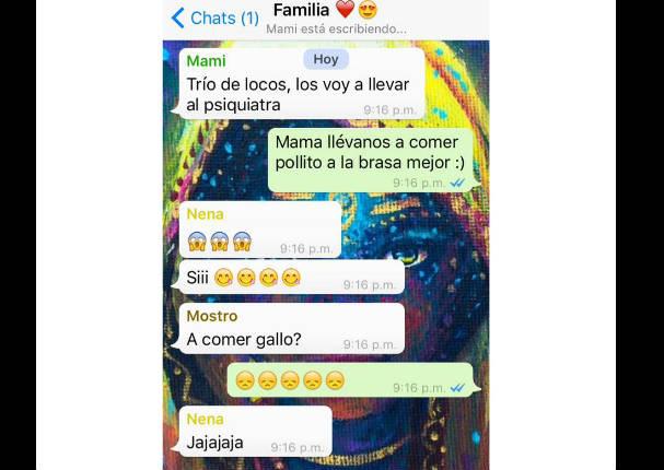 Whatsapp Viral: 7 screenshot de padres crueles con sus hijos (FOTOS)