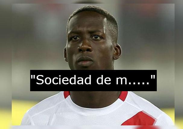 Luis Advíncula se indigna y arremete contra imagen racista (FOTO)