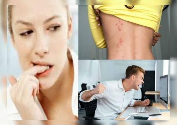 20 señales en tu cuerpo que indicarían que sufres de estrés