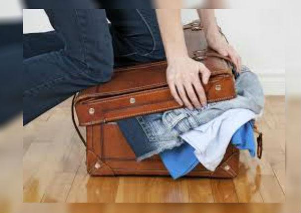 ¿De viaje por Fiestas Patrias? 5 tips para llevar toda la casa en una maleta