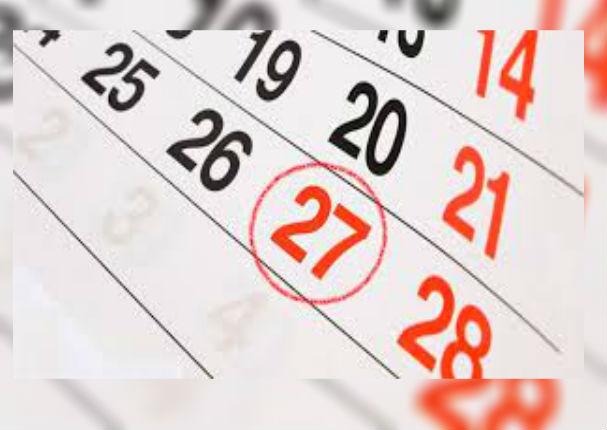 Fiestas Patrias: 27 de julio es declarado feriado no laborable