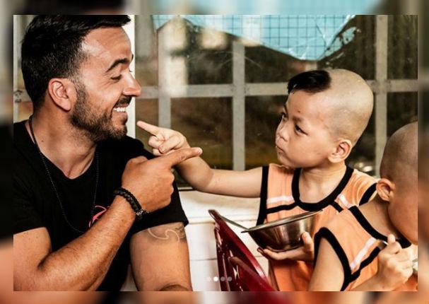 Luis Fonsi: Este fue el noble gesto que tuvo en un orfanato de Vietnam