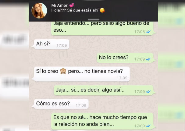 Facebook Viral: Engaña a su novia por whatsapp pero ella lo desenmascara así (VIDEO)