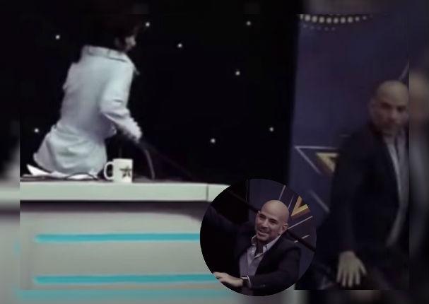 Ricardo Morán sufre bochornosa caída durante casting de 'Yo soy' (VIDEO)