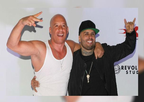Nicky Jam: Así fue la romántica sorpresa que le dio a Vin Diesel por su cumpleaños