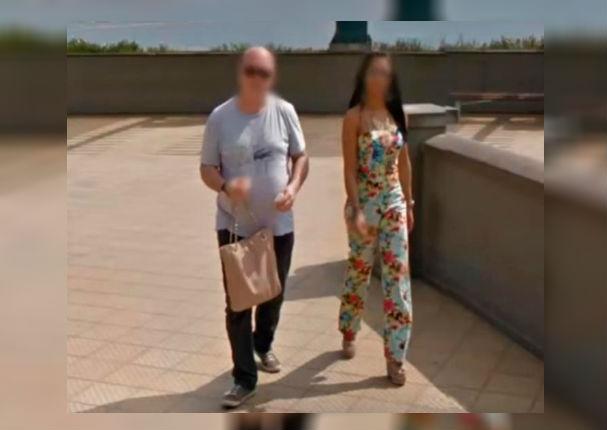 Google Maps revela a pareja de infieles paseando por Miraflores (FOTO)