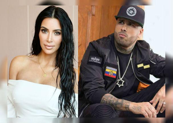 Nicky Jam y Kim Kardashian más juntos que nunca (VIDEO)