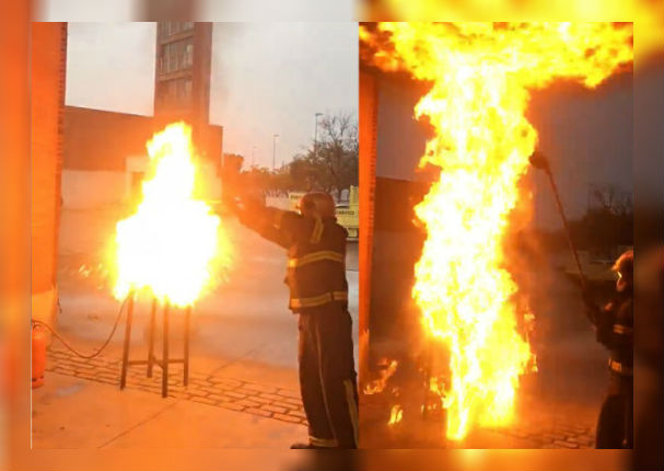 Esto es lo que NUNCA debes hacer si se incendia tu sartén (VIDEO)