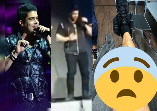 Jerry Rivera revela las consecuencias del accidente que tuvo durante concierto (VIDEO)
