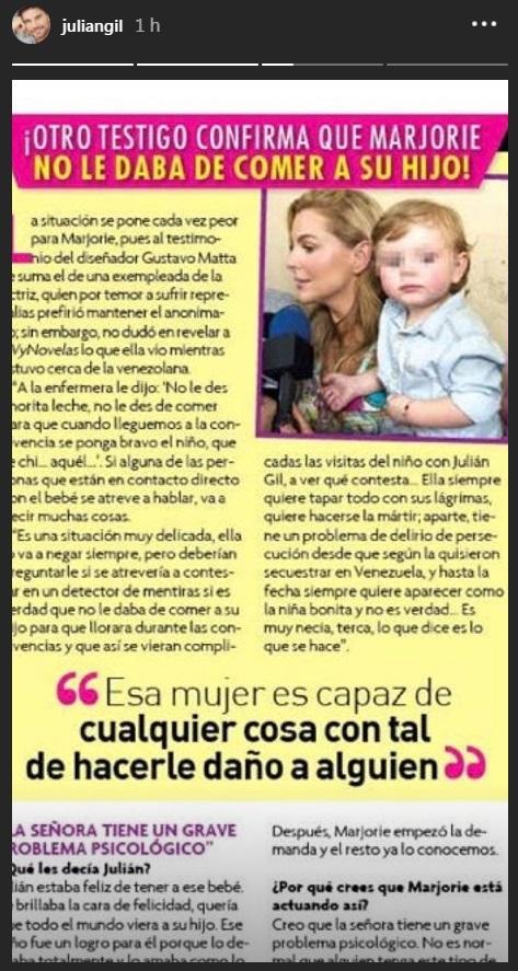 Afirman que Marjorie De Sousa maltrata a su hijo ¡Y hay testigos!