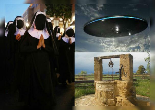 ¿Qué significa soñar con ovnis, monjas o pozos?