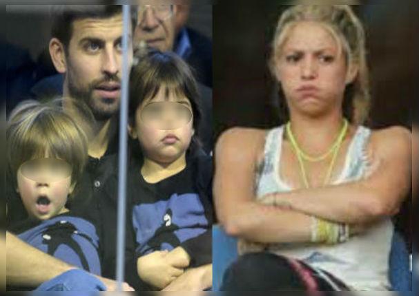 Shakira: La curiosa travesura de Gerard Piqué y sus hijos (VIDEO)