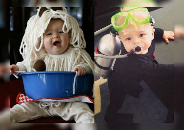Halloween: 30 ideas para que tus hijos lleven el mejor disfraz (FOTOS)
