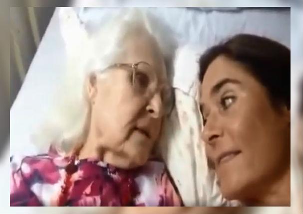 Anciana con Alzheimer reconoce a su hija y hace llorar a todos (VIDEO)