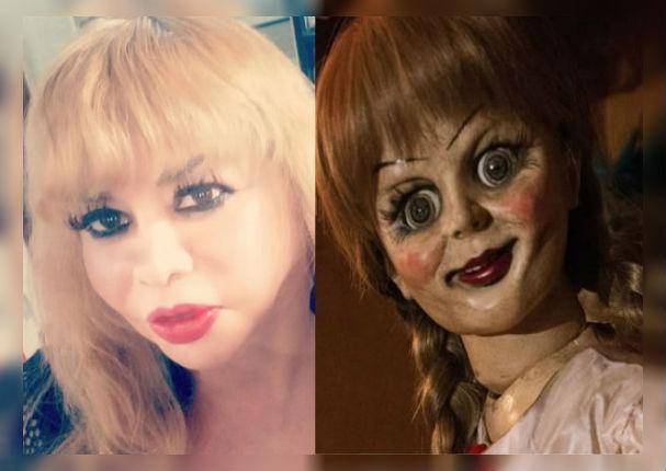 Susy Diaz: 'Chuchibelle' sorprende a todos con increíble vestuario (video)