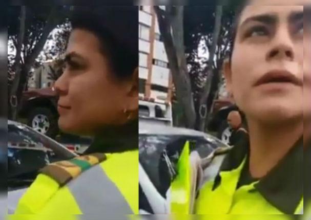 Facebook: Graban conversación íntima entre dos policías durante operativo (VIDEO)