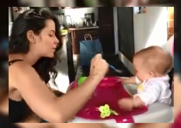 Facebook: La primera palabra de este bebé indignó totalmente a su madre (VIDEO)
