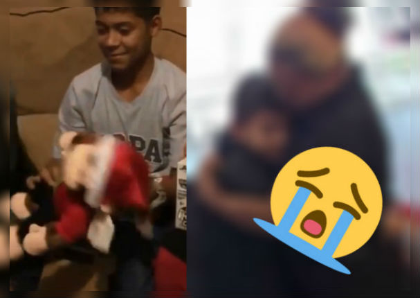 Navidad: Perdió a su madre y este detalle hizo llorar a más de uno (VIDEO)