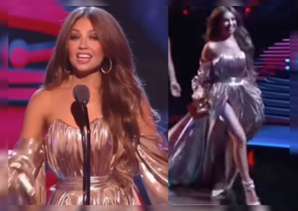 thalia:-el-incomodo-momento-que-paso-en-los-latin-grammy-video