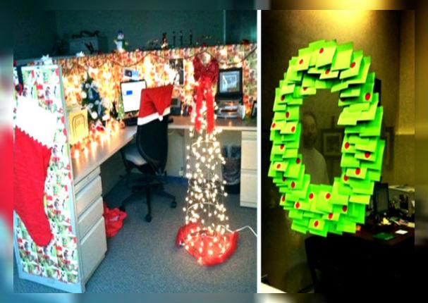 Navidad Ideas Para Decorar Tu Oficina Sin Gastar Mucho