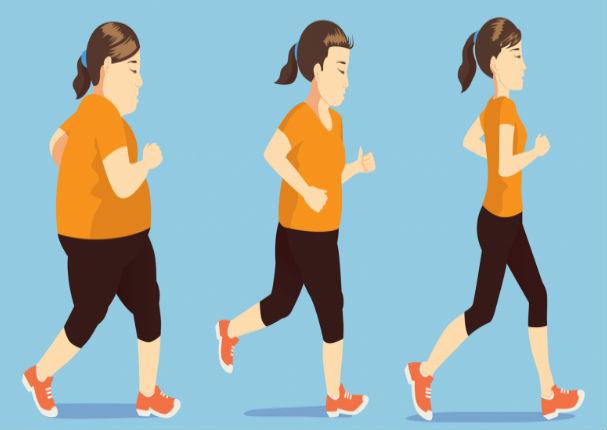 ¿Cuánto tiempo debes caminar al día para bajar la pancita?