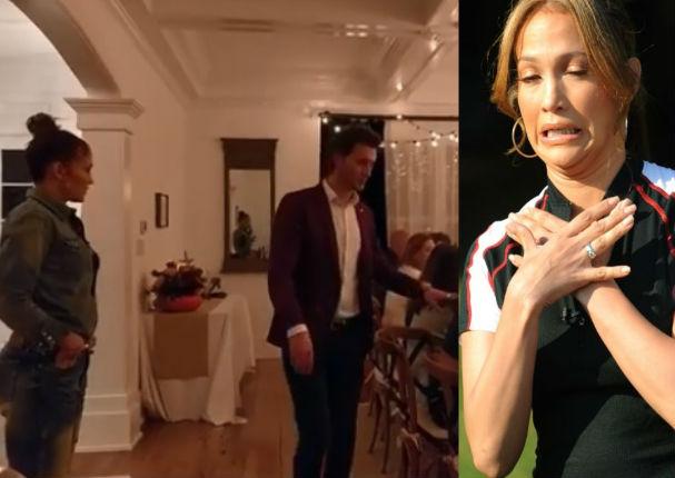 Jennifer López: La terrible broma que le hizo toda su familia (VIDEO)
