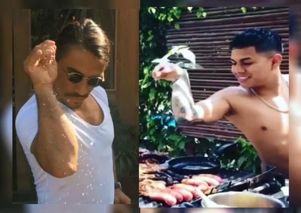 César Vega imitó al cocinero más extravagante del mundo (VIDEO)