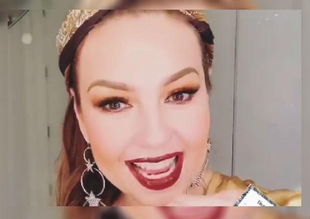 Instagram: Critican a Thalía por exceso de maquillaje