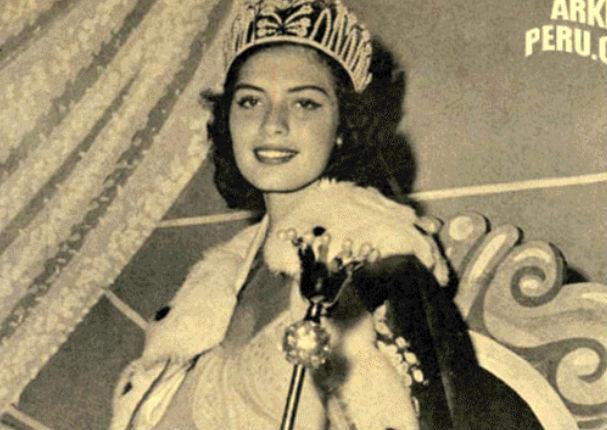 Gladys Zender: Así luce la primera peruana en ser Miss Universo