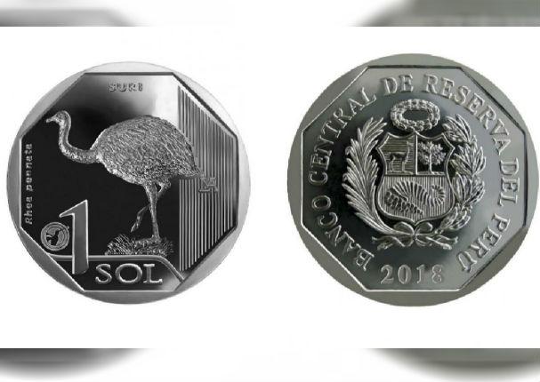 BCRP: Conoce la nueva moneda de S/1 sol alusiva al suri