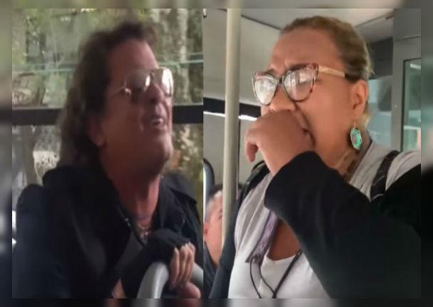 Carlos Vives sorprende a inmigrante venezolana que cantaba en autobús (VIDEO)