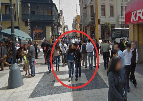 Google Maps: Captan a pareja en Jirón de la Unión durante íntimo momento (FOTOS)