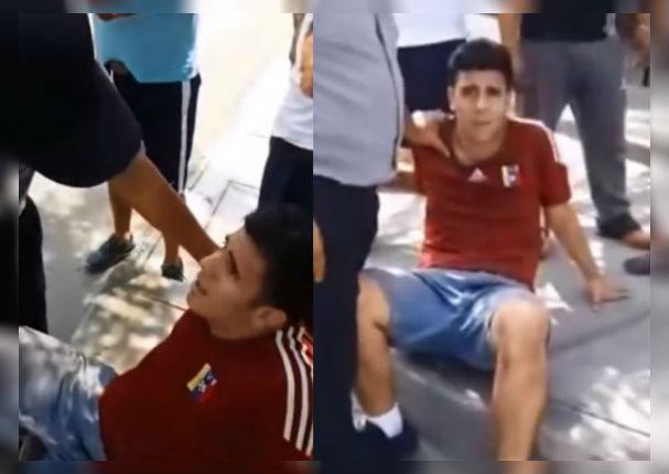 Venezolano criticó a su compatriota al descubrir que había robado (VIDEO)