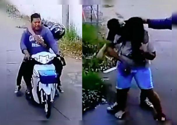 Su esposo llegó borracho a casa y ella le da esta lección (VIDEO)