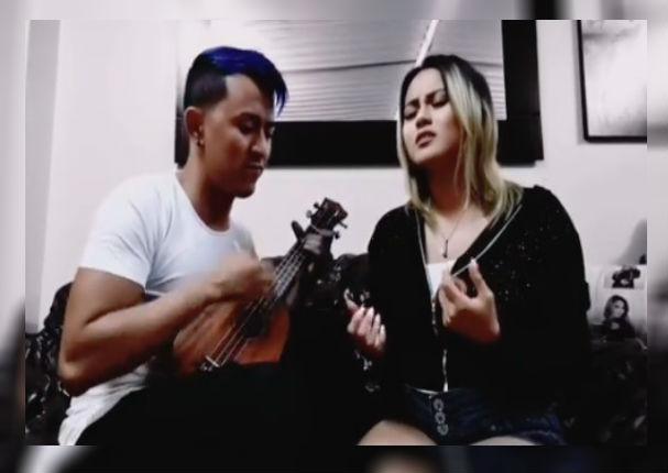 Amy Gutierrez se luce con cover de Manuel Turizo