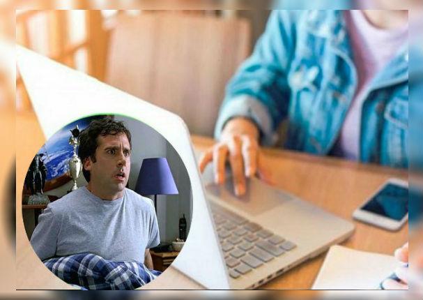 Mujer cansada oferta a su esposo por Internet