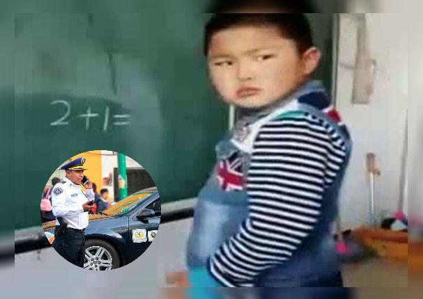 Niño llama al 911 para que le ayuden a hacer su tarea de matemáticas (VIDEO)