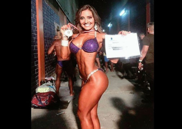 Ximena Hoyos: Así luce luego de ganar la competencia de físicoculturismo