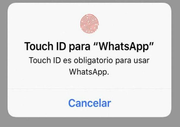 WhatsApp ya te permite bloquear tus chats con tu huella dactilar