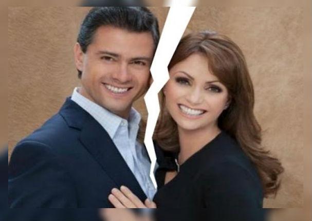 La gaviota se divorcia del expresidente de México