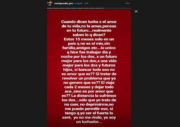 Ex de Xoana Gonzáles envía un fuerte mensaje luego de enterarse de su divorcio