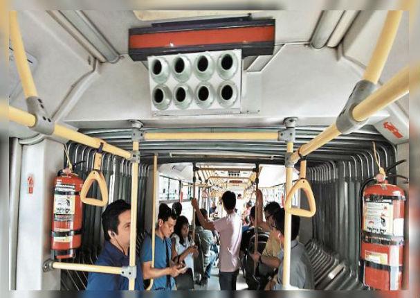 Metropolitano: Ya cuenta con moderno sistema de ventilación