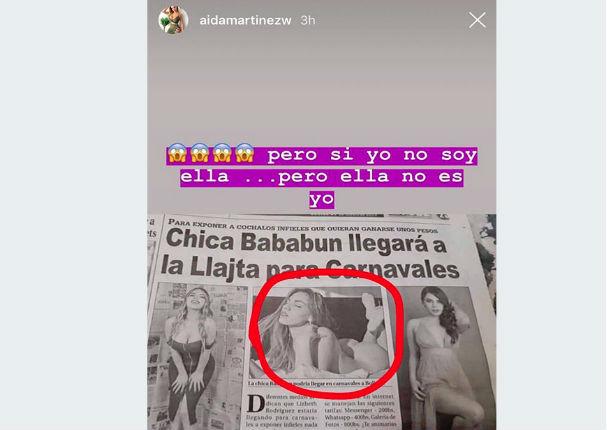 Confunden a Aída Martínez con la famosa ' Chica Badabun'