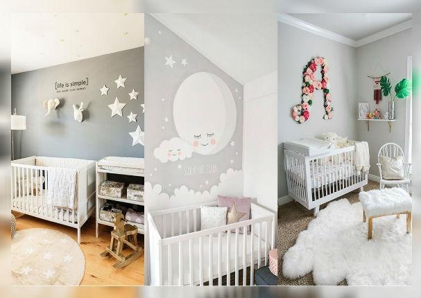 Mira las cosas que nunca pueden faltar en el cuarto de tu bebé