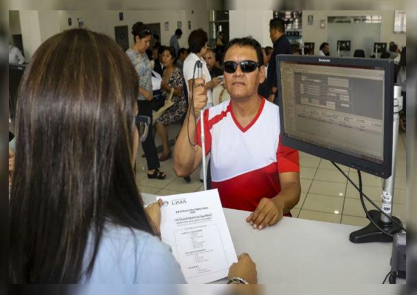 Municipalidad de Lima implementa servicio Braille en información tributaria