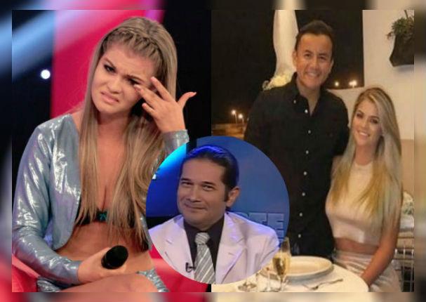 Brunella Horna sufre ataque de pánico al escuchar a Reinaldo Dos Santos